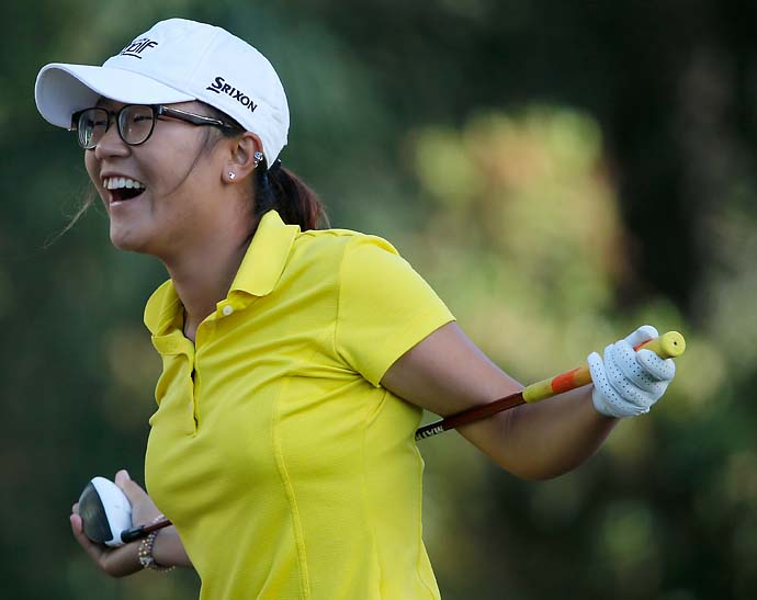 """Phil mentioned that one of the biggest mistakes was staying after college where the taxes are quite high. So I'm trying to stay in a low place. I don't have any money yet.""                           --Newly professional Lydia Ko on getting advice from her idol Phil Mickelson."