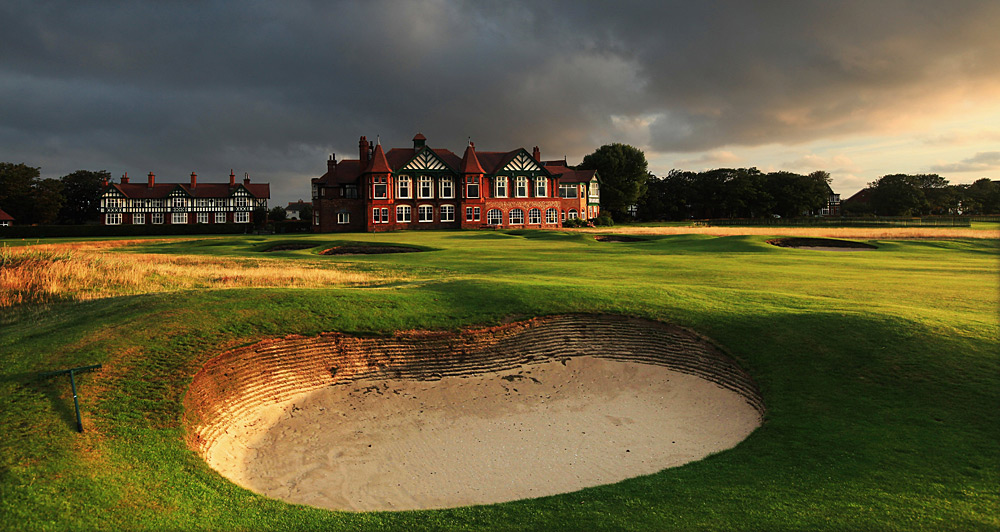 Royal Lytham & St. Annes -- England                           Site of 11 British Opens, this cramped, one-dimensional royal is littered with 206 bunkers, but not a single view of the sea. True, Bobby Jones hit a heck of a 2-iron here and Seve recovered from a parking lot in 1979, but the course itself, from the par-3 opener to the final green nestled uncomfortably close to the clubhouse, lacks drama and visual interest.