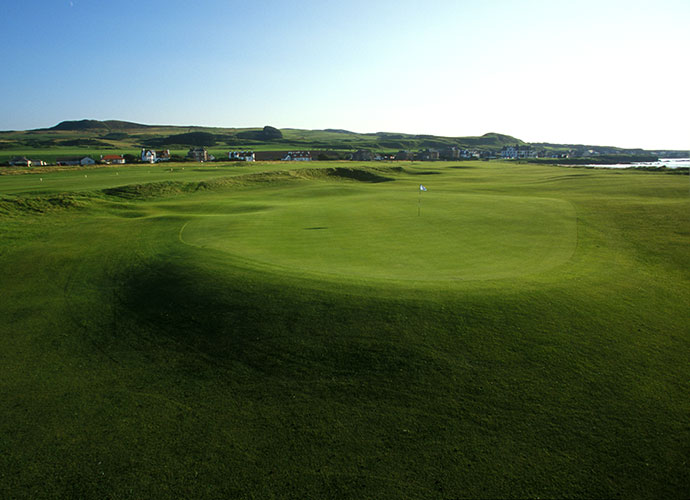 29. Machrihanish, Machrihanish, Scotland: This remote Old Tom Morris design ranks 91st in the world and entrances more for its ambience than for its challenge. Known for its enchanting opening hole that demands a drive over the beach, Machrihanish provides a gleeful romp through shaggy sandhills on the front nine. The closing stretch is a letdown, yet the Kintyre Peninsula wind and scenery makes for a complete test overall.