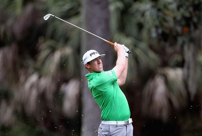 Hunter Mahan will likely miss the cut after a five-over 76.