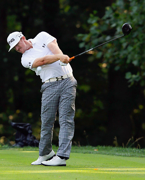 Hunter Mahan finished with a one-under 70.