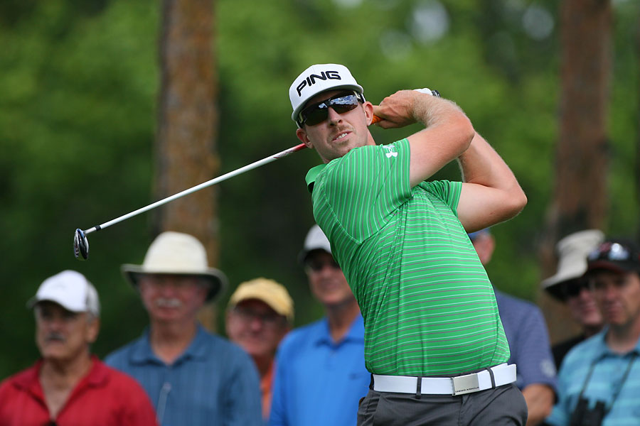 Hunter Mahan finished with a one-under 69.