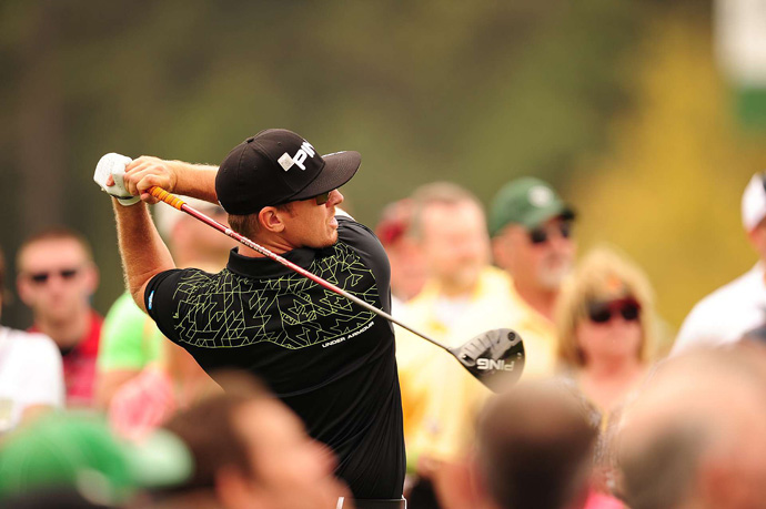 Hunter Mahan will struggle to make the cut after a 76.