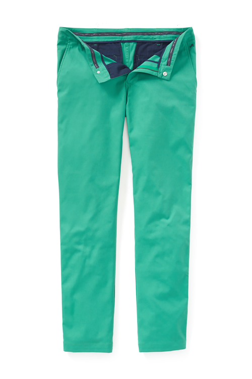 Maide Highland pant ($108; maidegolf.com): A slightly tapered fit from the knee down provides a flattering and comfortable silhouette, while a gel insert waistband helps keep your shirt tucked in.