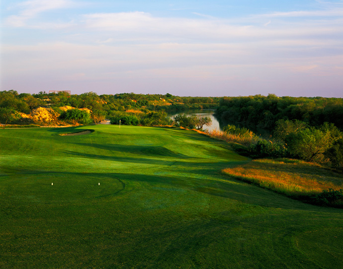 Max A. Mandel Municipal -- Laredo                           Edging the Mexican border, along the mighty Rio Grande, this brand new Robert Trent Jones II creation unfolds atop sandy bluffs above the famed river. Groves of towering mesquites and holes slashed by massive arroyos further spice the play.                            $33.50-$56; 956-726-2000, themaxlaredo.com