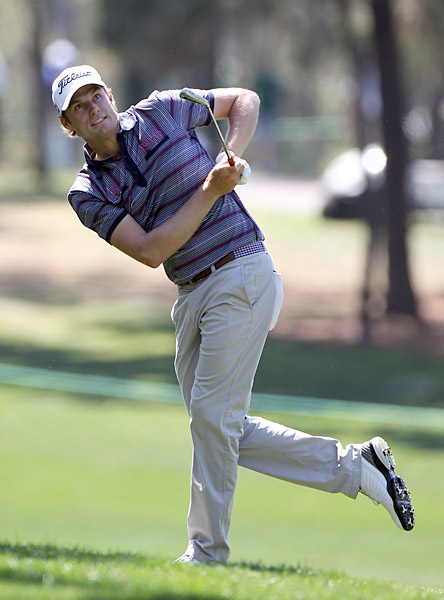 Nick Watney followed up his victory at last week's WGC-Cadillac Championship with a 66 on Thursday, putting him two shots off Casey's lead.