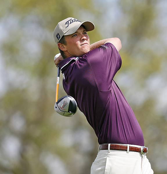 Matt Jones                       Age: 27                       Hometown: Sydney,  Australia                       College: Arizona State He broke  out during the Honda Classic, when Johnny Miller raved about his swing. Jones was  tied for the lead with four holes to play but  bogeyed the par-3 15th and double-bogeyed the par-3 17th after hitting his tee  shot into the water. He tied for fourth and  won $227,333, the biggest payday of his  career. A very consistent player, he's made all seven cuts this year  after having survived 18 of 25 cuts last year on the Nationwide,  where he had four seconds and finished seventh on the money list.