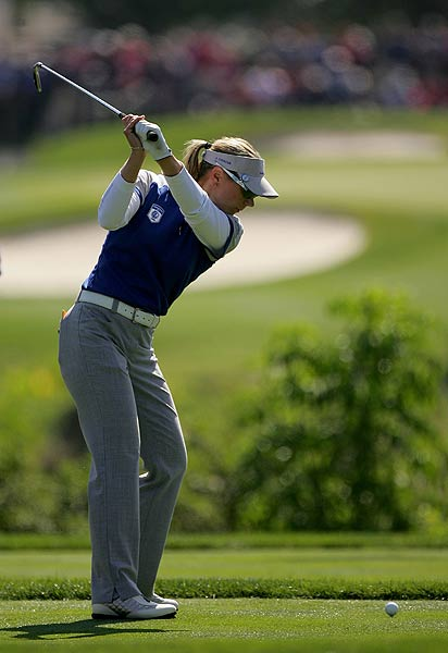 Sorenstam was three under in her final round.