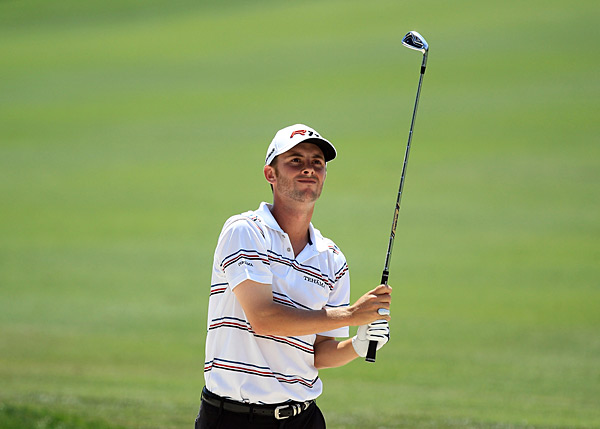 Spencer Levin was in sole possession of second place when the final round began but struggled mightily under the pressure, dropping out of contention early.
