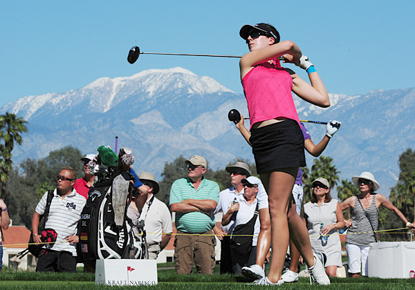 Sandra Gal fired a five-under 67 on Thursday.