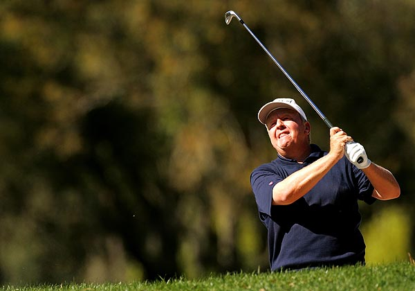 Two bogeys on the back nine left Billy Mayfair at two under par for the tournament.