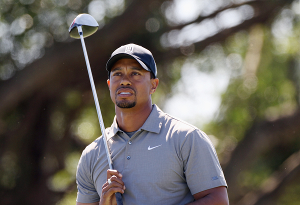 Tiger Woods continued to struggle with his new swing on Friday. Woods shot a 2-over 74, and he stands at even par.