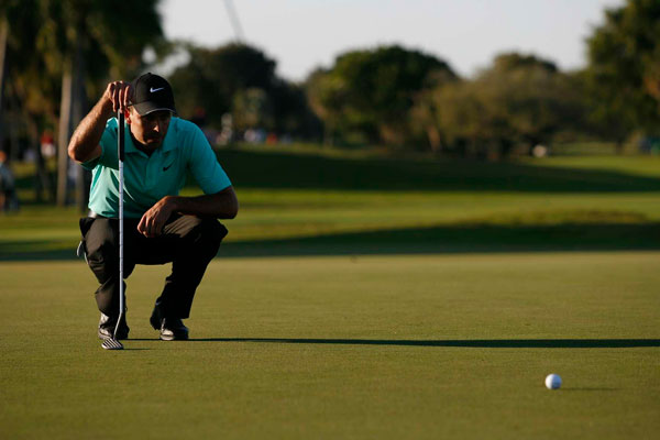 made six birdies and a bogey for a 67.