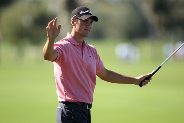 birdied four of his last five holes to shoot the round of the day, a 6-under 66.