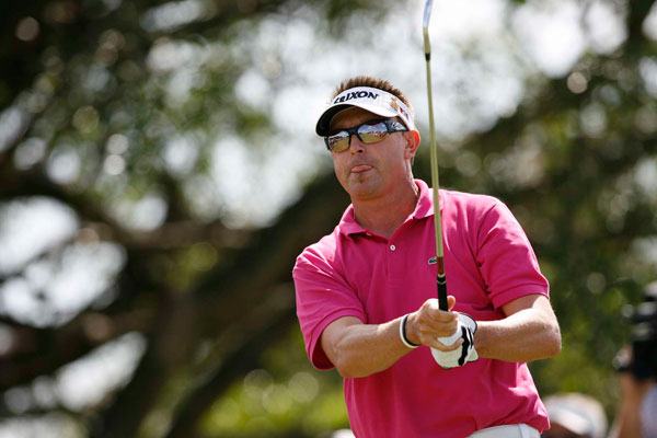 was in contention until bogeys on Nos. 14, 15 and 16 to finish tied for 11th. However Allenby did make history at Doral. He became only the seventh player in Tour history to eagle a par 3, a par 4 and a par 5 in the same week.