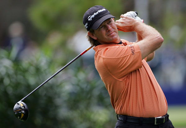 birdied two of his last three holes to finish with a bogey-free 67.