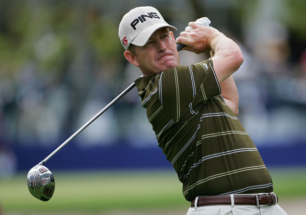 slipped into the tournament as an alternate after Vijay Singh withdrew with a back injury and fired a 4-under 67.
