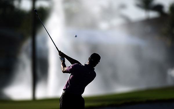 Woods is the three-time defending champion at Doral.