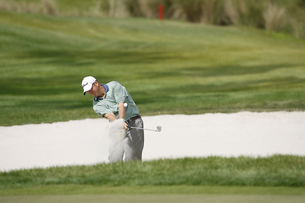 Dudley Hart opened with a birdie, but he struggled the rest of the day. Hart finished at four under.