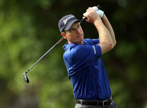Jim Furyk made eight birdies to move into contention.