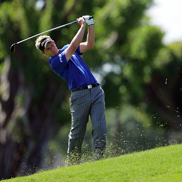Luke Donald struggled in the third round, shooting a 3-over 75.