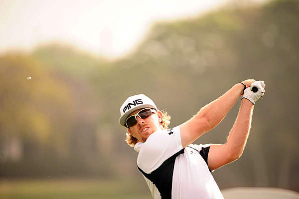 made four birdies, three bogeys and an eagle for a 3-under 69.