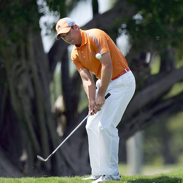 Sergio Garcia found himself in the middle of a controversy when he spit into the hole at No. 13 after missing a putt on Saturday.  Despite his frustration, he managed to finish T3.