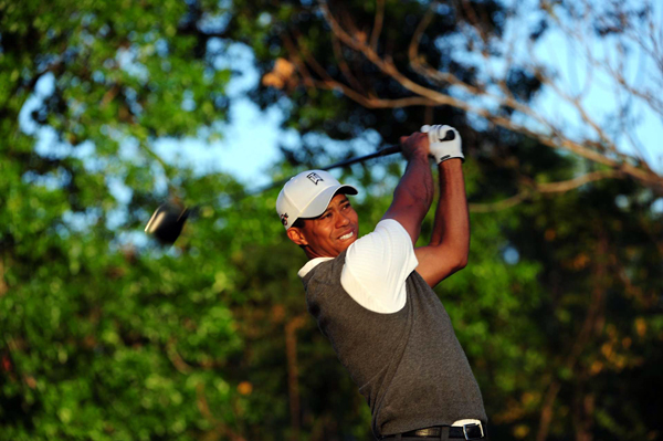 Two weeks ago, Woods tied for ninth at Doral in his first stroke-play event since returning from knee surgery.