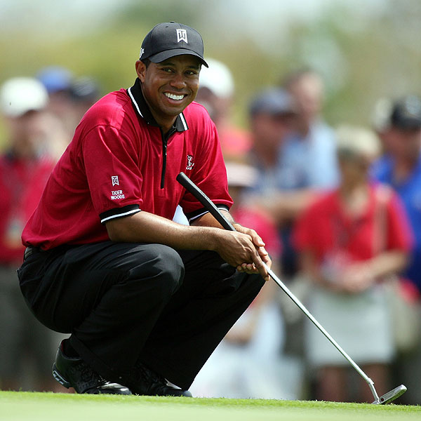Combined, this year's participants have won 43 major championships. Twelve of those majors belong to Tiger.