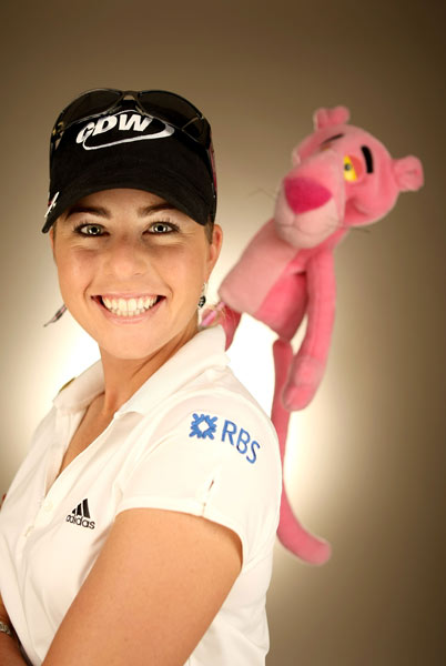 Paula Creamer, known as the Pink Panther, is still looking to win her first LPGA major.