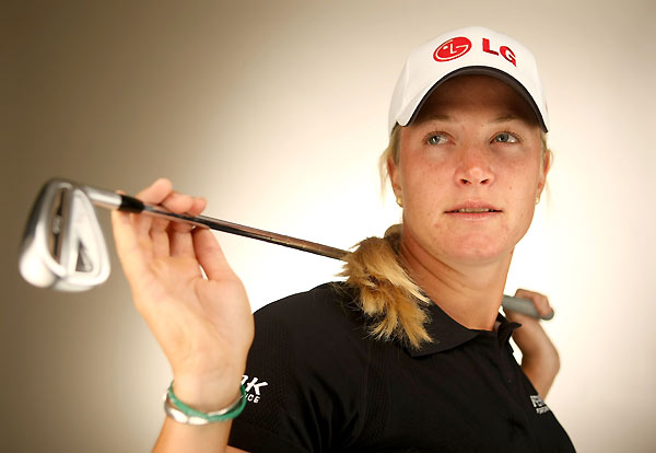 Suzann Pettersen also won her first major last year at the McDonald's LPGA Championship.