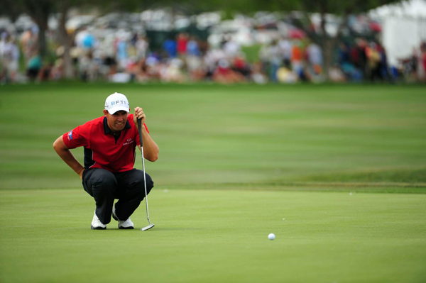 "Truth & Rumors: Putter failing Harrington                                              As bleak as it looks after five successive missed cuts Padraig Harrington is not ready yet to rule out completing a hat-trick of Open titles in 15 days' time. ""I have another week,"" said the Dubliner after a second round 75 that included a triple bogey eight on the 14th put him out of the French Open by four shots on Friday night. As he did before his back-to-back victories at Carnoustie and Birkdale Harrington plays in the Irish PGA Championship this week hoping that four rounds on a links course can pay rich dividends in Scotland. Last year he injured a wrist practising on an impact bag at home four days ahead of The Open and overcame that to win by four. This time, though, it is a crisis of confidence as much as anything - and while the attention the last few months has been on his swing changes now he has putting worries as well.                                                                     • Read the entire article at sportinglife.com                       • Comment, share it, blog it and read related news"
