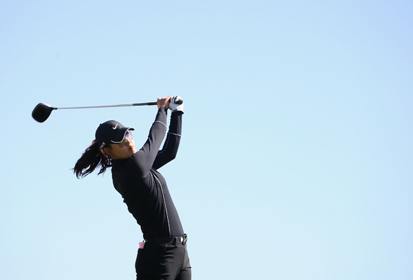 Michelle Wie shot a 2-over 74. She is tied for 61st.
