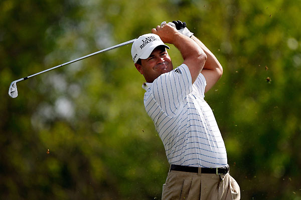 Jay Williamson finished with a three-under 69. He is one shot off the lead.