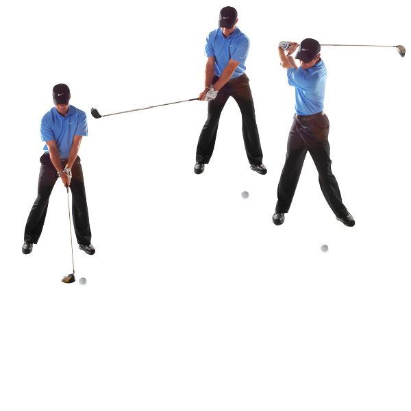 HOW TO BUILD TRUST IN YOUR BACKSWING                       Let the club swing freely to the top There's no better feeling than the clubhead rising smoothly in your backswing. I get this feel by allowing the face on my driver to rotate open, like it's turning right along with my hips. Some people try to keep the clubface shut to hold off a slice. That makes your swing too rigid and brings a hook into the equation.