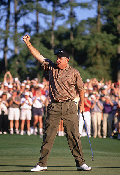 Mark O'Meara birdied the 18th to win the 1998 Masters.