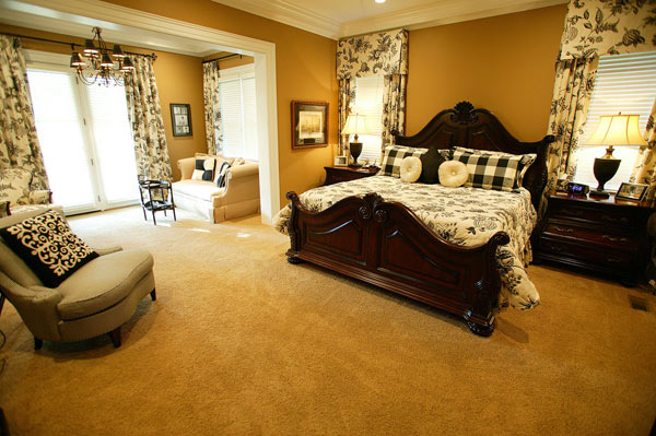 There are two Master suites, one on each floor.