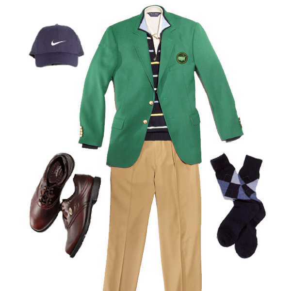 CLASSICAL                                                                                       Mercerized pinpoint White Sand golf shirt, Polo Golf; $75, polo.com                                                                                       Nike cap, classic swoosh in obsidian/white; $18, nike.com                                                                                       Cotton-striped zip-neck sweater, Brooks Brothers; $90, brooksbrothers.com                                                                                       eCOMFORT shoe, Footjoy; $90, footjoy.com                                                                                       Cashmere blend argyle socks, Brooks Brothers; $40, brooksbrothers.com                                                                                       Super 110's wool gabardine camel custom touring pant, Polo; $185, polo.com