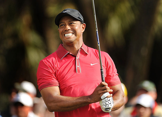 2014 Masters: Tiger Woods announced that he will miss the 2014 Masters (and the next several months of PGA Tour play) while he recovers from successful microdiscectomy surgery on a pinched nerve in his back.