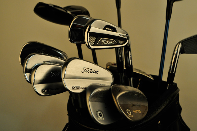 Matteo Manassero will attack the Bear Trap at PGA National with a mixed set of Titleist AP2 and Titleist MB irons.