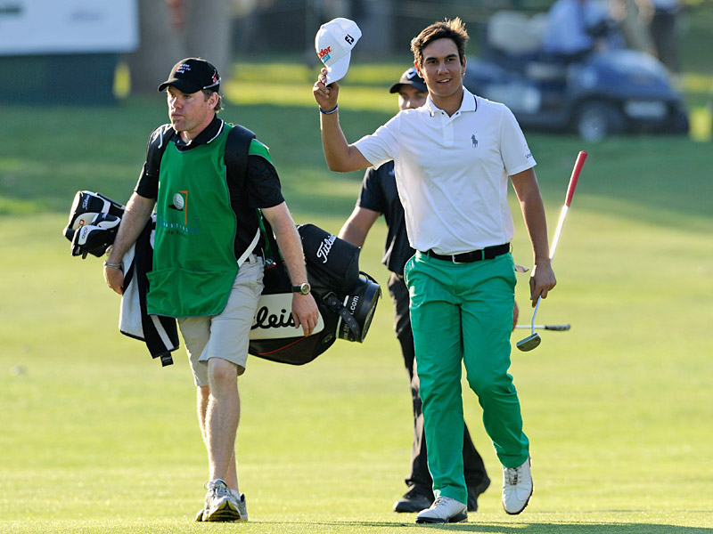 Matteo Manassero                           The Italian phenom also won twice as a teen, first at the 2010 Castelló Masters Costa Azahar and later at the 2011 Maybank Malaysian Open. At 17, Manassero's wins earned him the first- and second-place spots on the list of youngest European Tour winners of all time.
