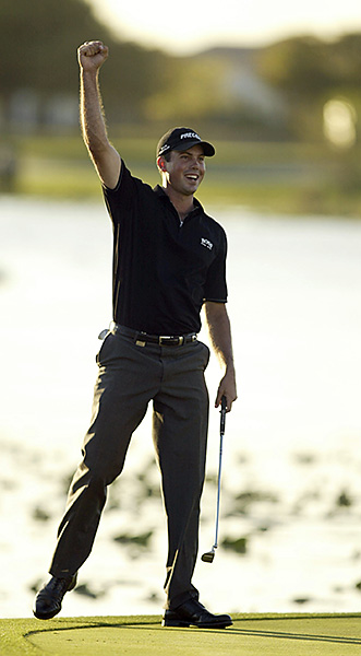 9. The Kuch in 2002: Playing in his first full year on the PGA Tour, former amateur sensation Matt Kuchar tamed the desert-like sand masses at the TPC at Heron Bay with four rounds in the 60s to beat Brad Faxon and Joey Sindelar by two. Four straight birdies on the back nine sealed the deal, in a hugely popular win and a tip of the cap to Kuchar for remaining in school and graduating from Georgia Tech, when he could have cashed in years earlier.