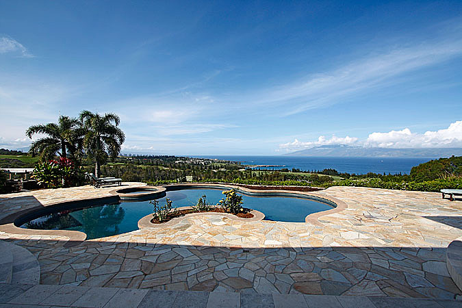 Also on the Plantation Course in Maui, this $8.9 million home comes with views of the Pacific and a wine cellar. The furniture is included in the purchase price.