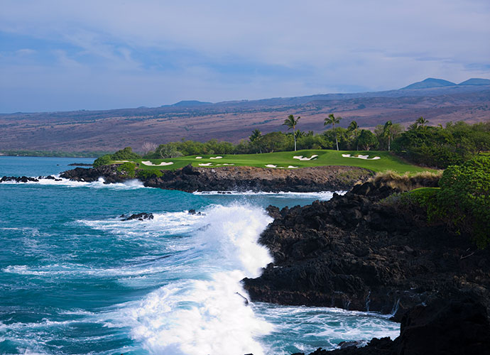 33. Mauna Kea Golf Course Kamuela, Big Island, Hawaii; Robert Trent Jones Sr./Rees Jones (1964/2008) -- $160-$255, princeresortshawaii.com
