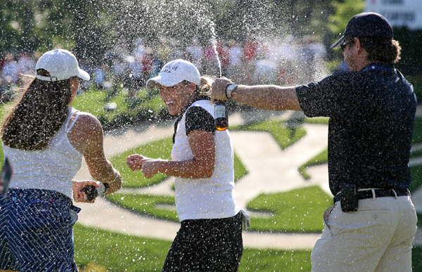 Michelob Ultra Open at Kingsmill: Final RoundCristie Kerr shot a one-under 70 to win by two shots over In-Kyung Kim.