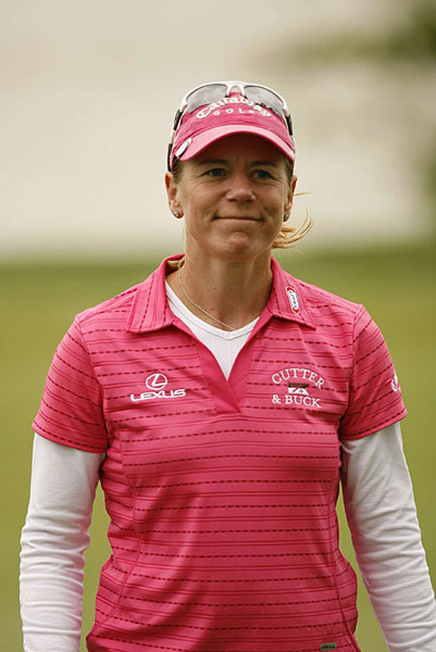 """That's the way I used to play,"" said Sorenstam, who hit nearly every fairway and almost every green."