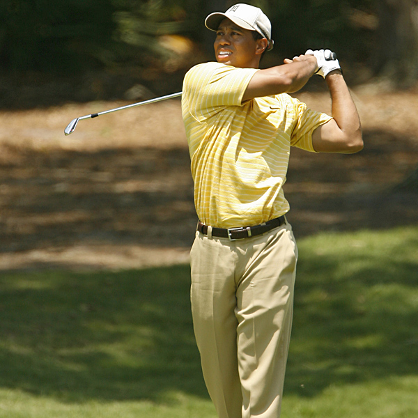 With the cut at five, Tiger came through with five pars and a birdie in his final six holes to finish at four over par.