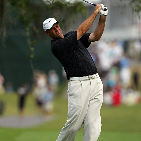 "Stewart Cink's bogey-free 66 moved him from a tie for 16th to a tie for third. ""You know, I never thought I wouldn't find myself here, because the two over par I shot Thursday might have been the round this week that I was the most proud of,"" Cink said. ""I was all over the lot. I got up-and-down all day long.""                                                      • More on Stewart Cink"