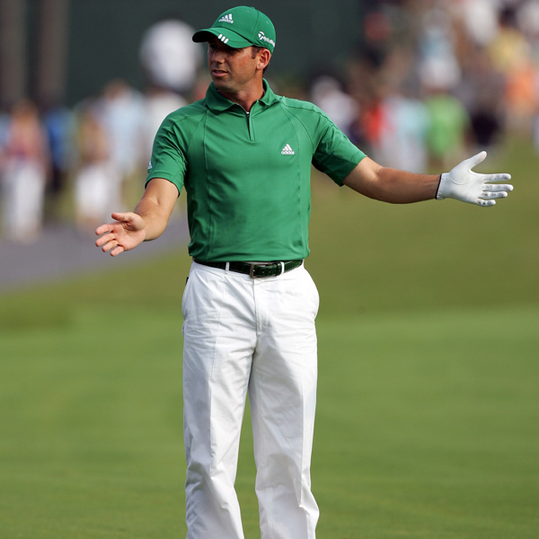 "Sergio Garcia birdied 14-17 to finish in second place. But a drop on the second hole was questioned by Garcia's playing partner, and Garcia said it hurt his play. ""They were calling me a cheater on that,"" Garcia said. ""You never like that. I've never cheated in my whole life. I'd rather shoot 85 than shoot 65 cheating.""                                                      • More on Sergio Garcia"