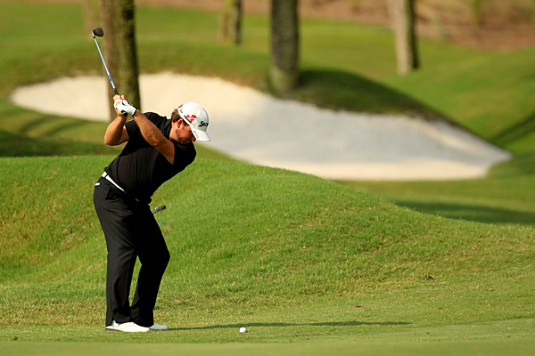 Graeme McDowell birdied two of the last three holes for a 3-under 69.